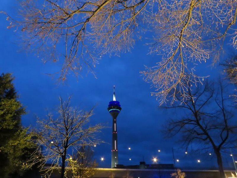 Dusseldorf Rhine Tower