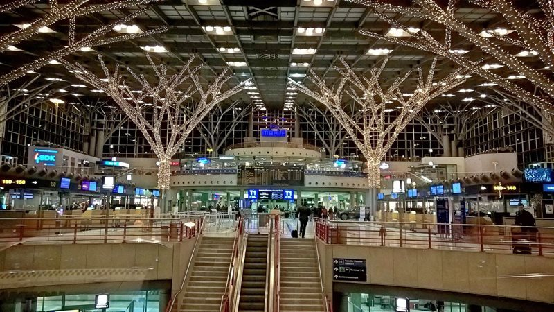Stuttgart Airport Arrivals Hall