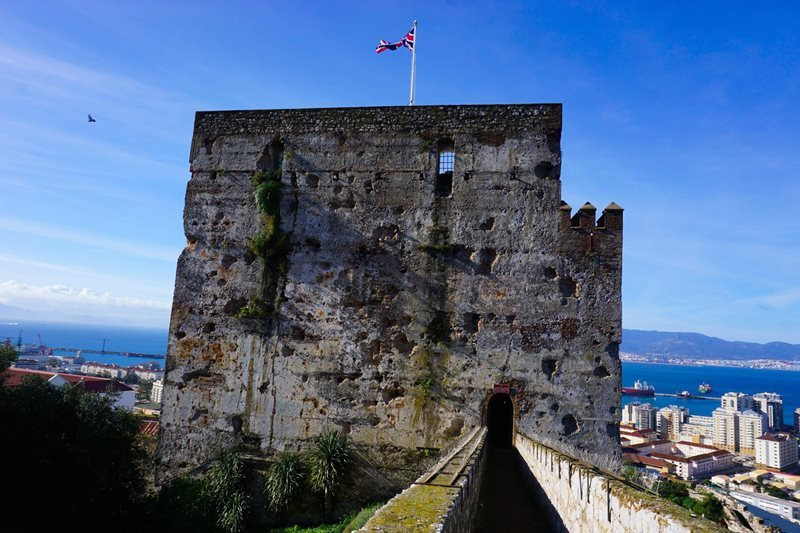 Gibraltar Moorish castle