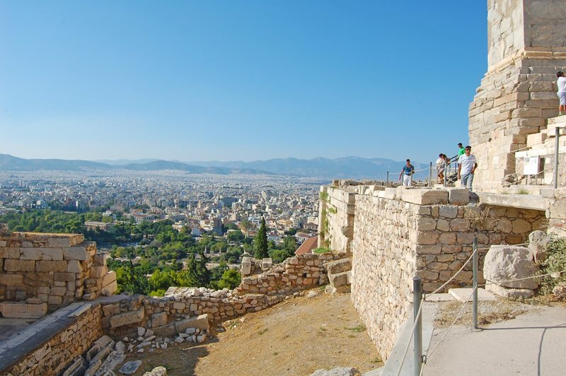 athens view from acropoli