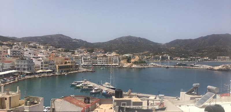 view of karpathos