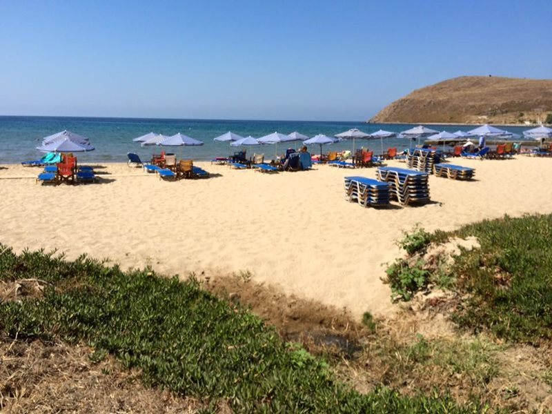 Lemnos islands myrina beach