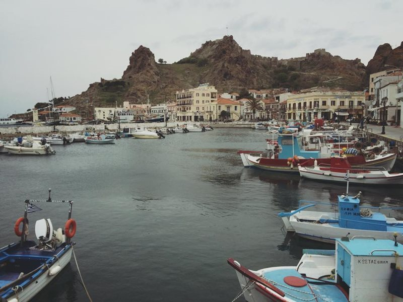 lemnos islands myrina harbour