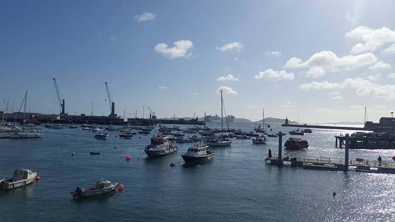 Guernsey St Peter port Harbour