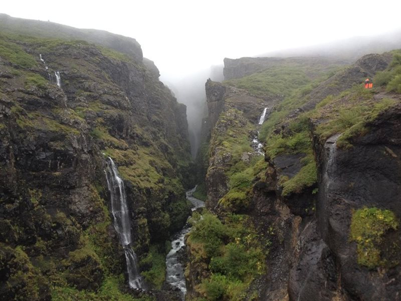 Egilsstadir Airport Icelands highest waterfall