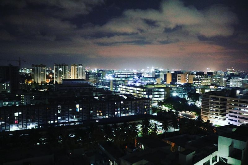 Bangalore city view