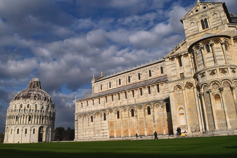 Pisa catherdral and Baptistry