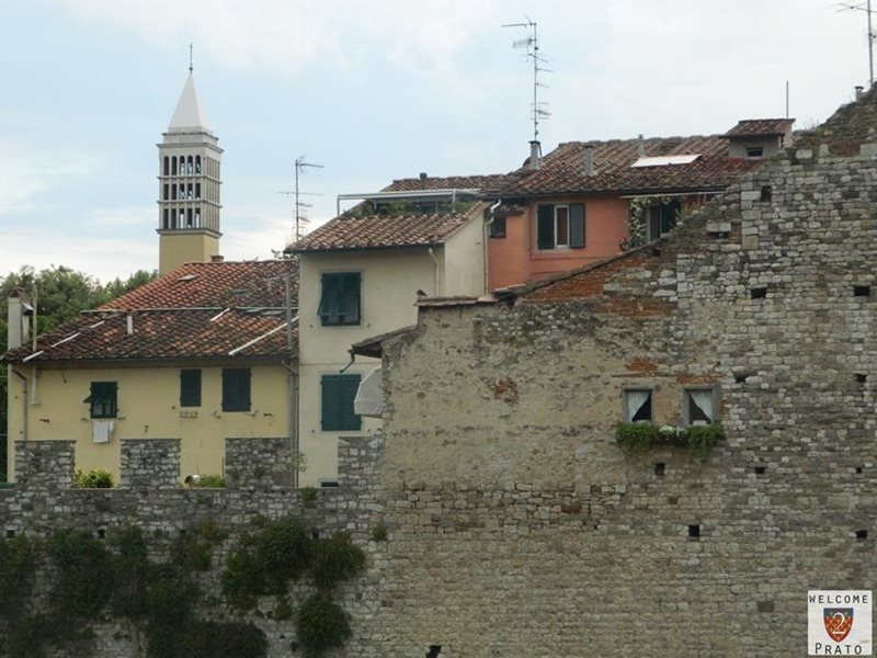 Prato city walls