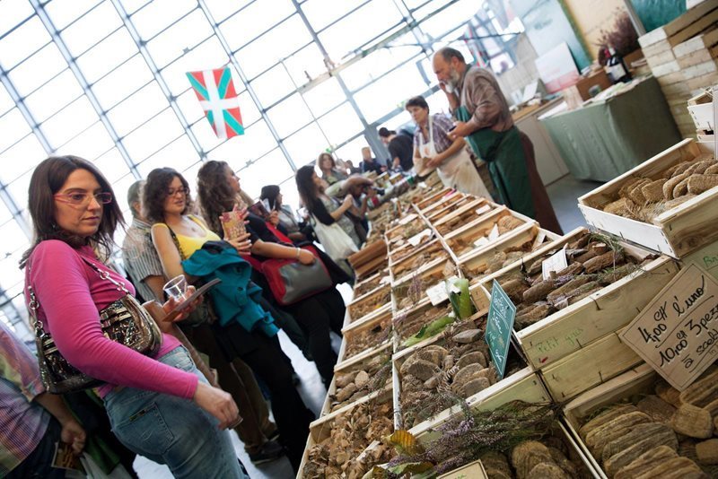 Turin slow food market