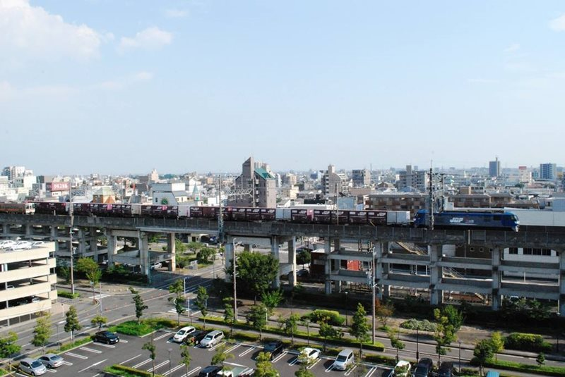 Gifu Train station view
