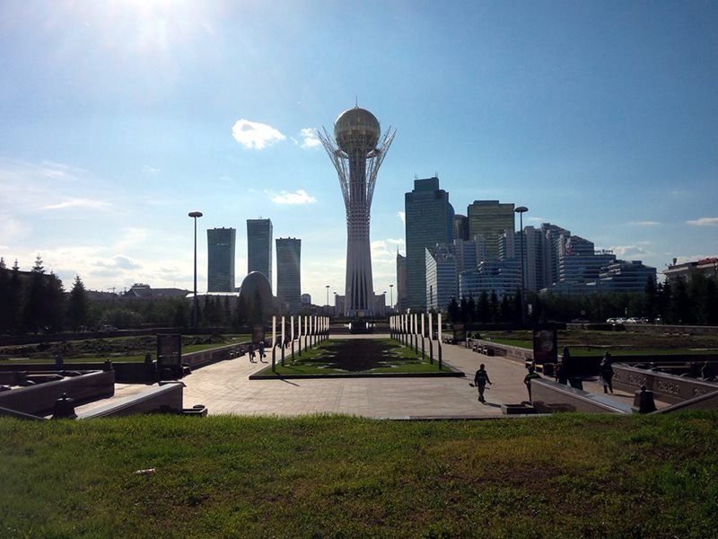 Astana Baiterek Tower