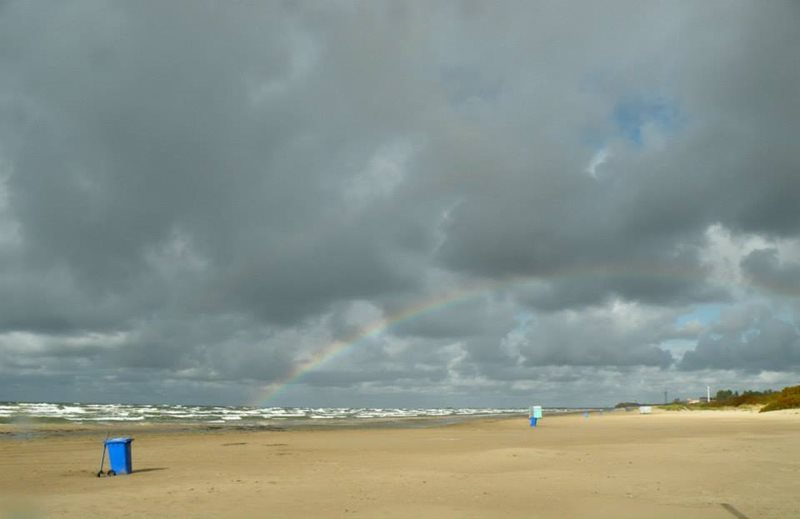 Liepaja Airport Blue Flag beach