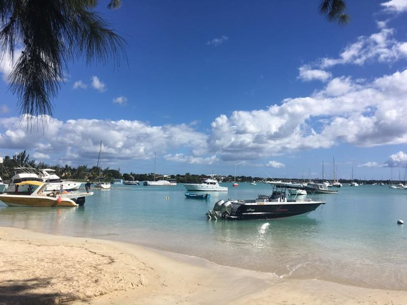Grand Baie in Mauritius