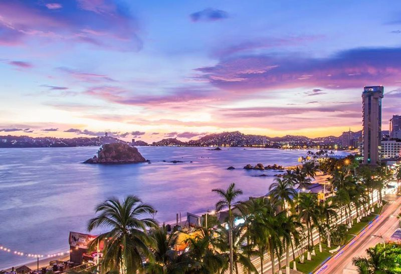 View of Acapulco Mexico