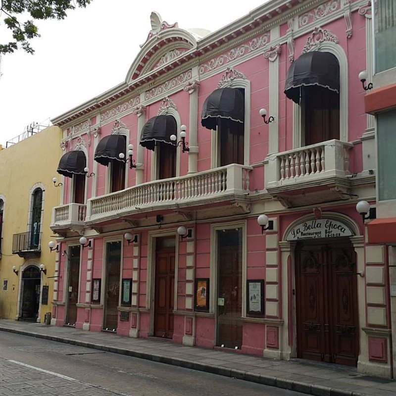 Colonial Buildings in Merida