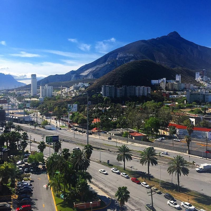Mountains in Monterrey Mexico