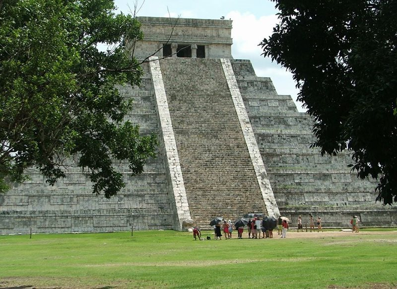 Chichen Itza near Playa Del Carmen