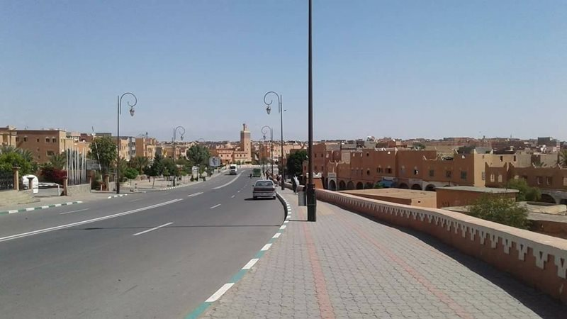 Ouarzazate City View