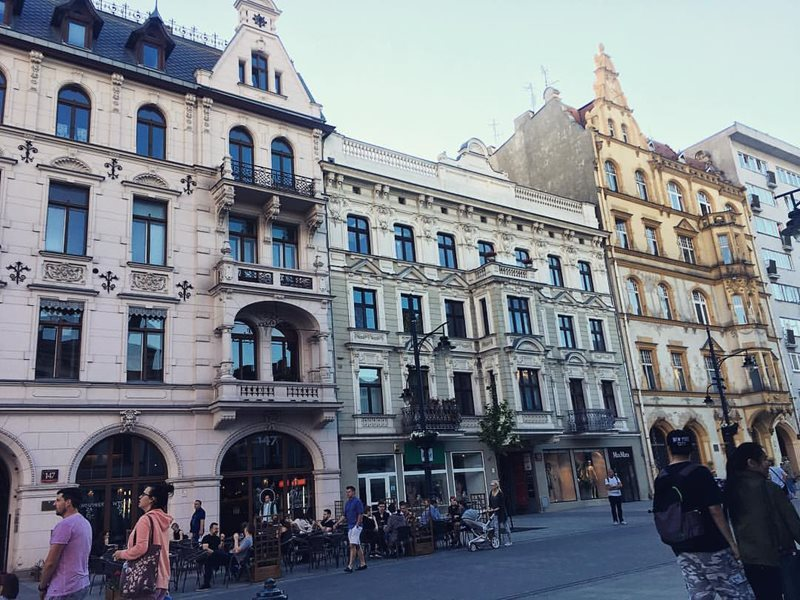 Lodz buildings
