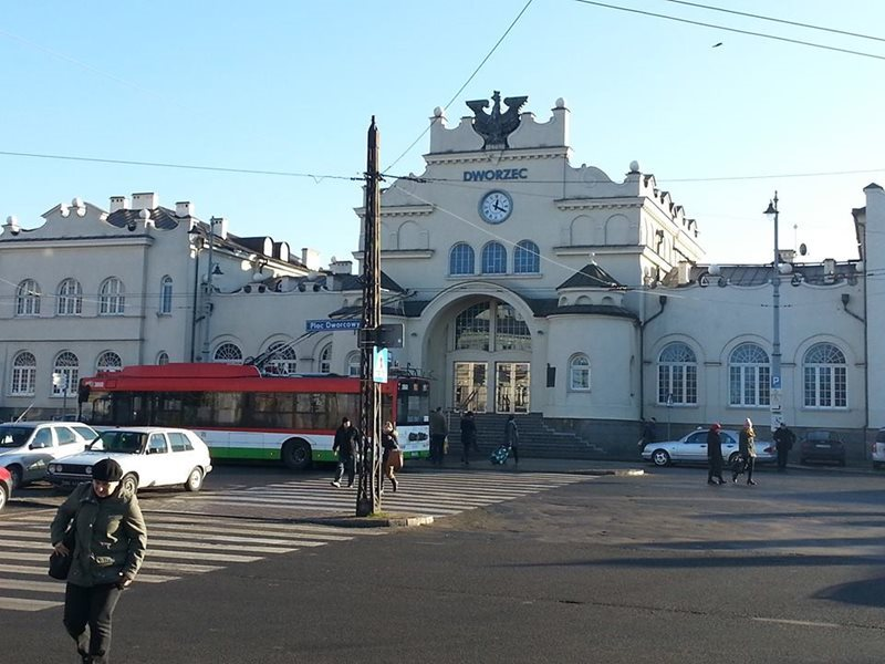 Lublin train station