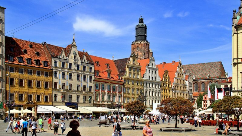 Wroclaw Rynek central square