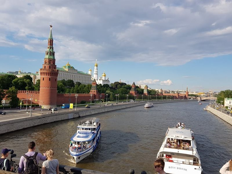 Moscow Moskva River