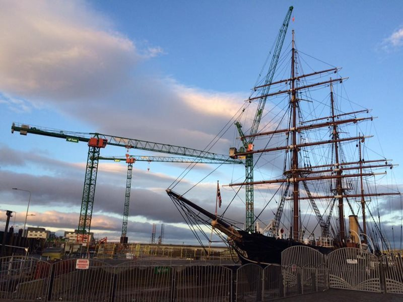 Dundee Rss discovery warship