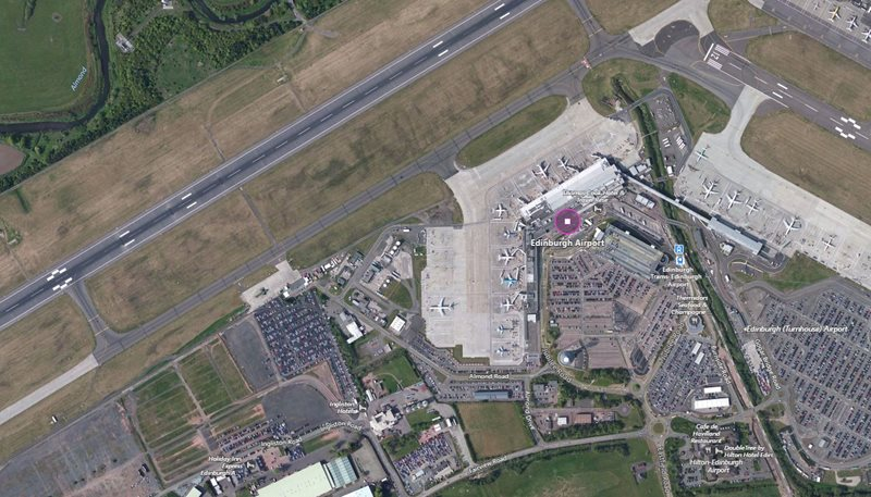 Edinburgh Airport Car Hire Centre