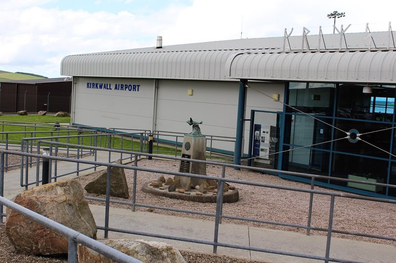 Kirkwall Airport Orkney