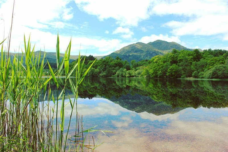 Scotland Trossachs National Park