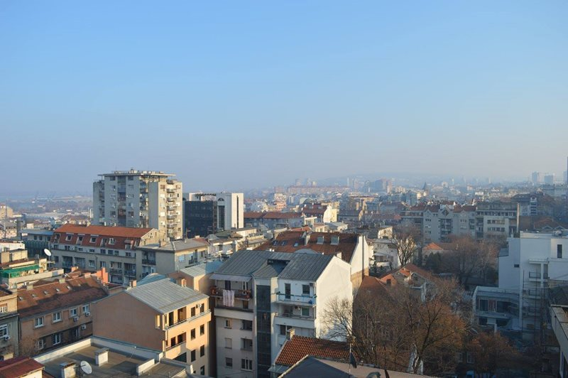 Belgrade city view