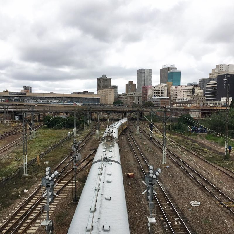 Johannesburg train station