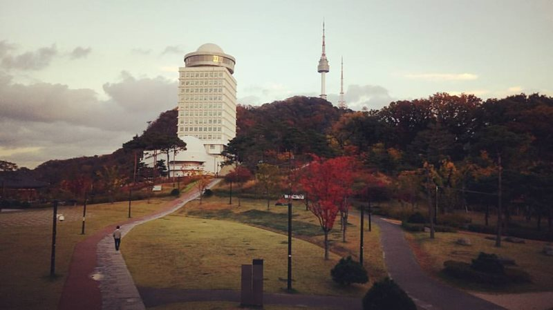 Seoul N Seoul Tower view