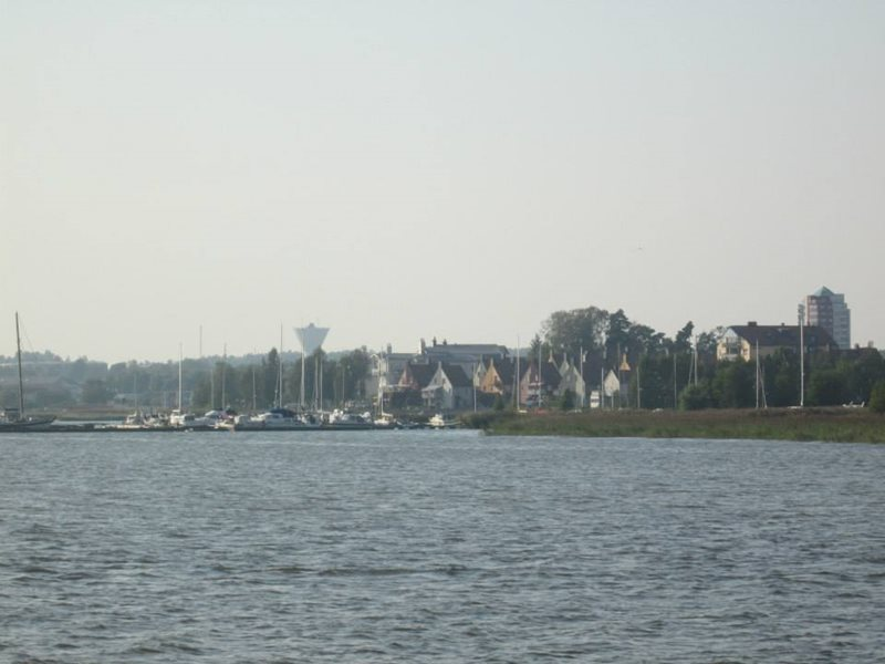Nykoping coastal cottage view