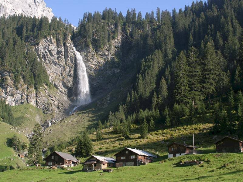 waterfall in altdorf