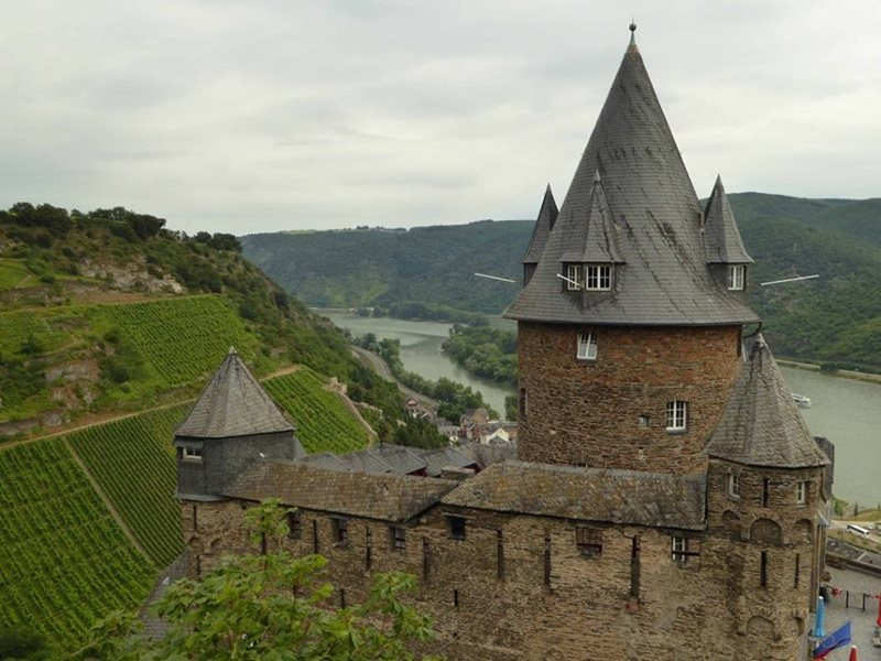 castle on the rhine altenrhein