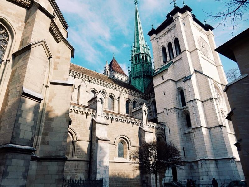cathedral of saint peter geneva