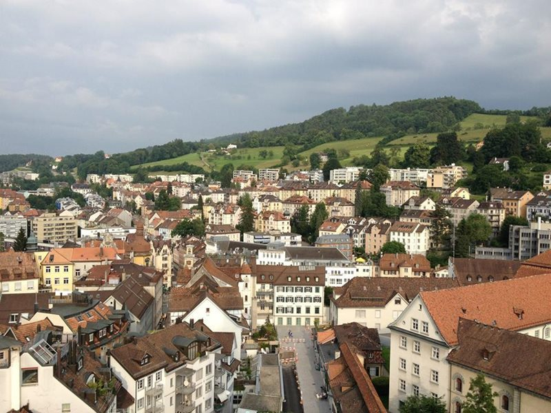 st gallen view