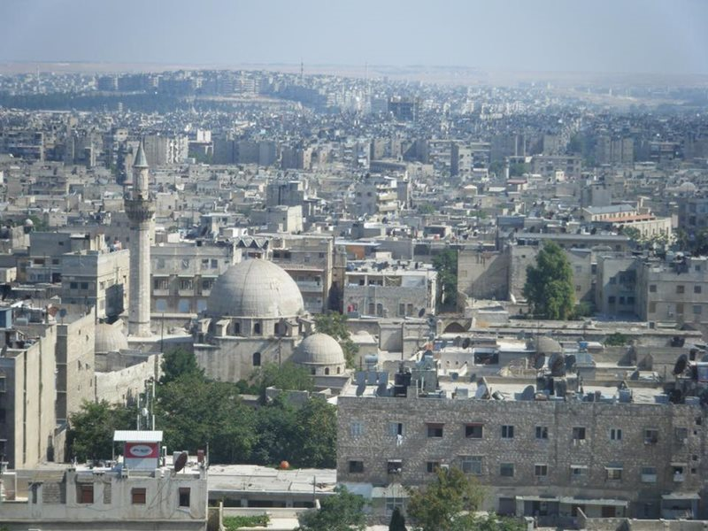 View of Aleppo Syria