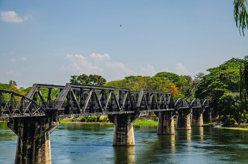 Thailand The Bridge Over the River Kwai