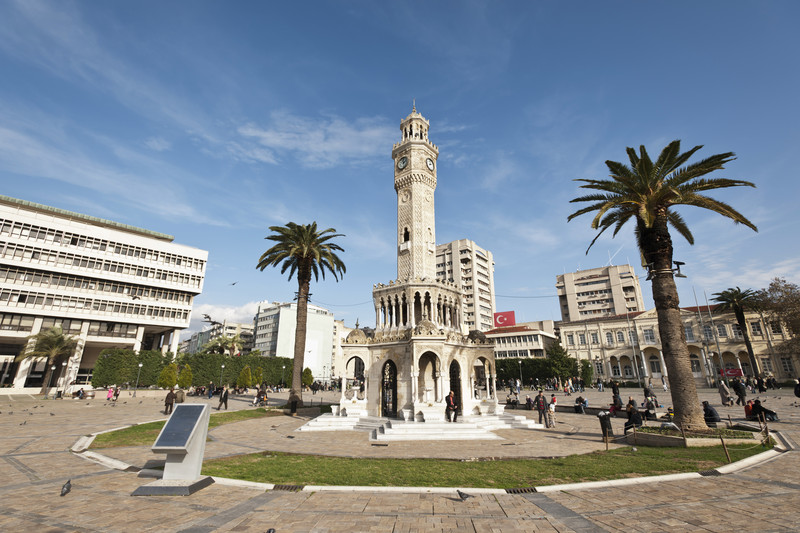 Izmir City clock tower