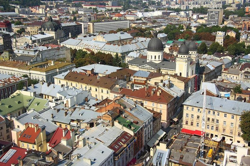 A view of Lviv Ukraine