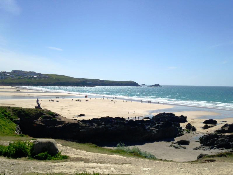 best beach cornwall fistral newquay