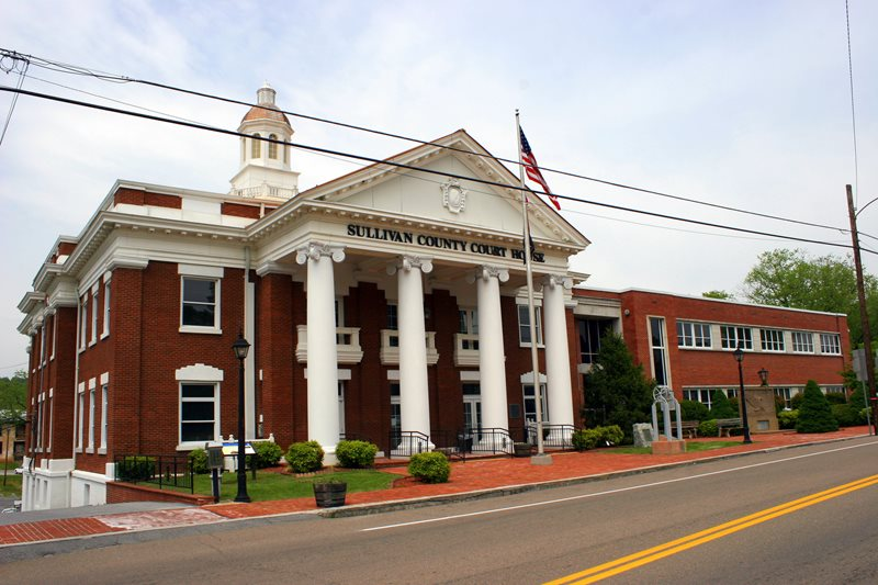 Blountville sullivan country courthouse