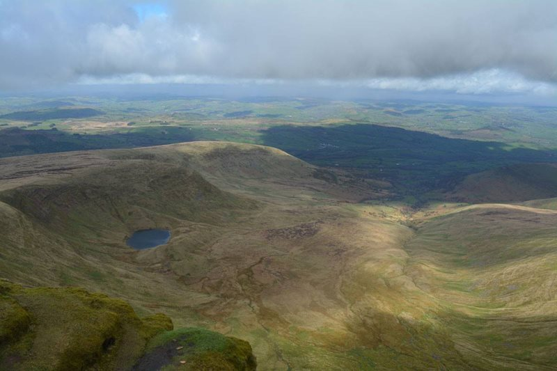 Brecon Beacons near Carmarthen