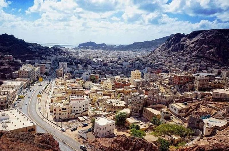 Aden City in Yemen