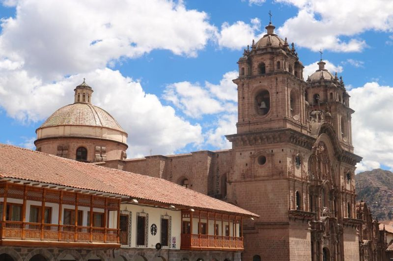 Cuzco city square
