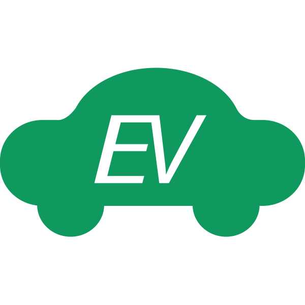 EV mode symbol in green