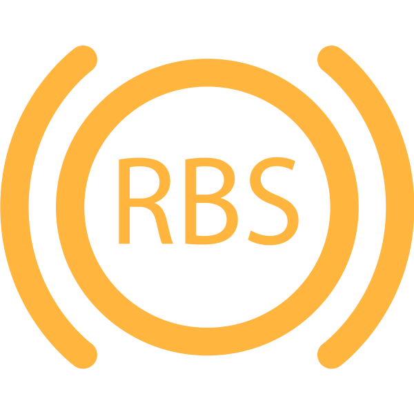 RBS warning light in orange