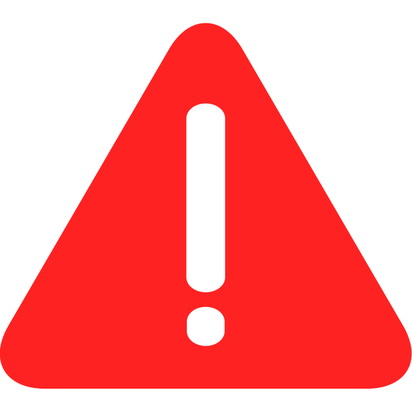 Image result for red warning sign